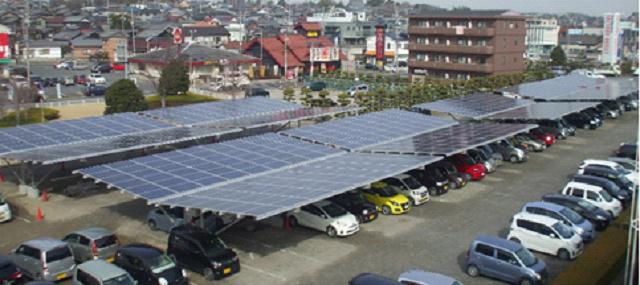カーポート型太陽光発電設備の販...
